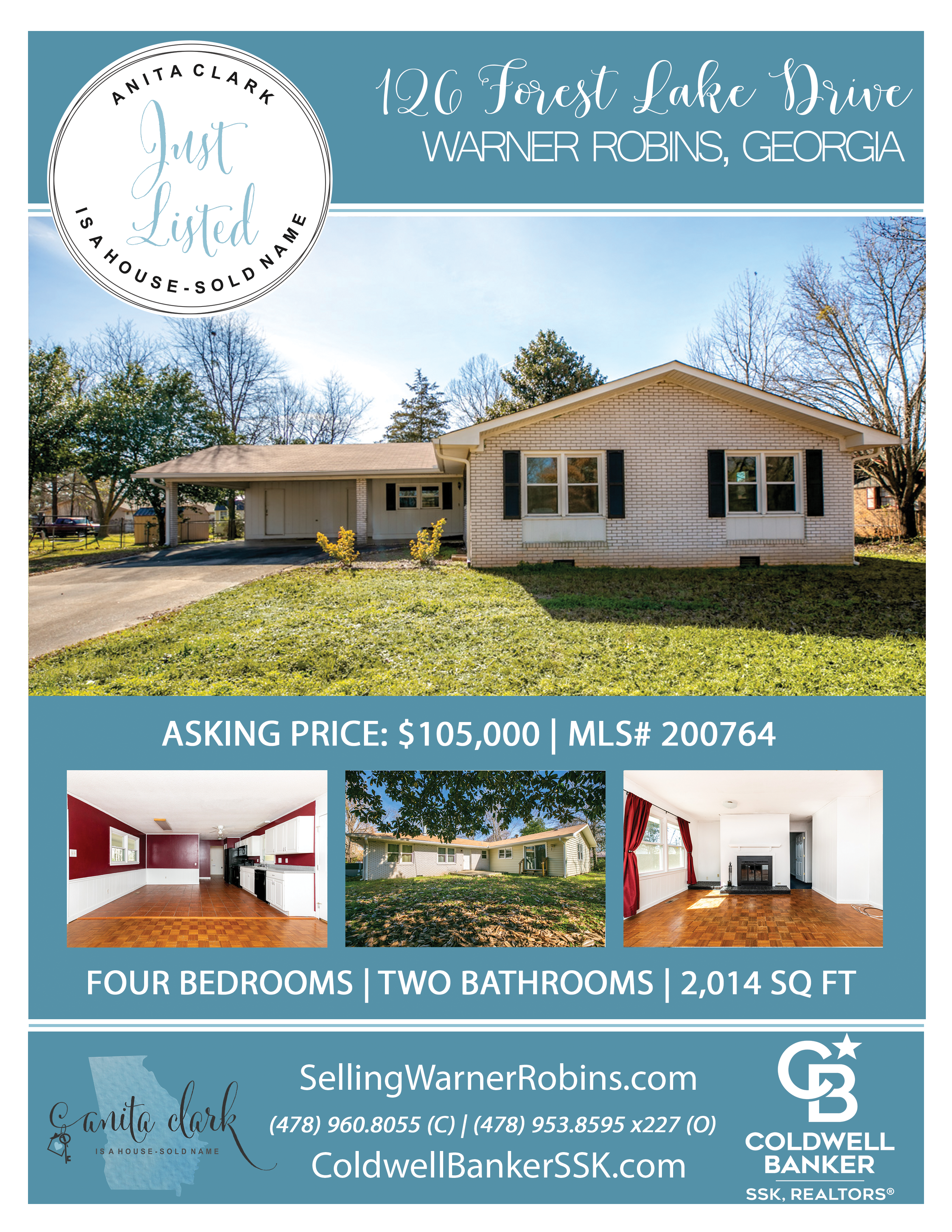 Just Listed in Camelot Subdivision