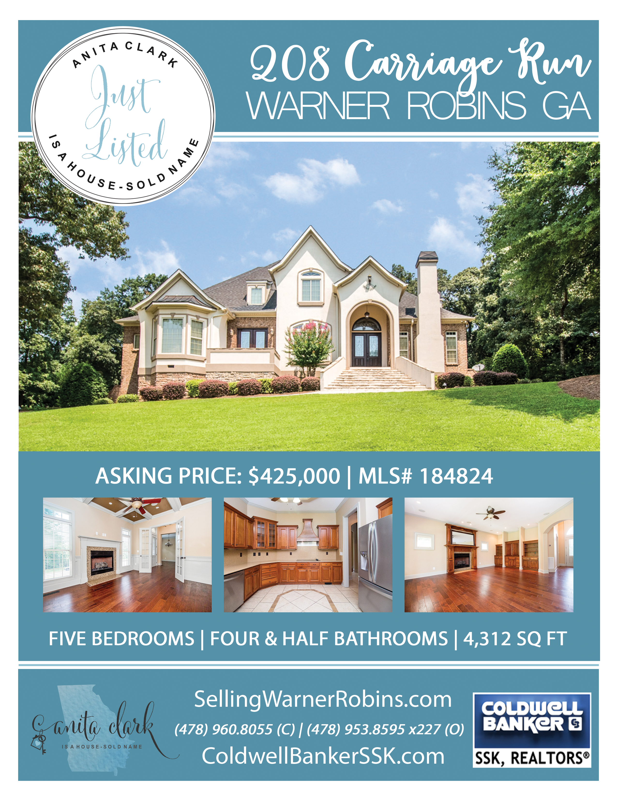 Just Listed in Mill Pond Plantation Subdivision