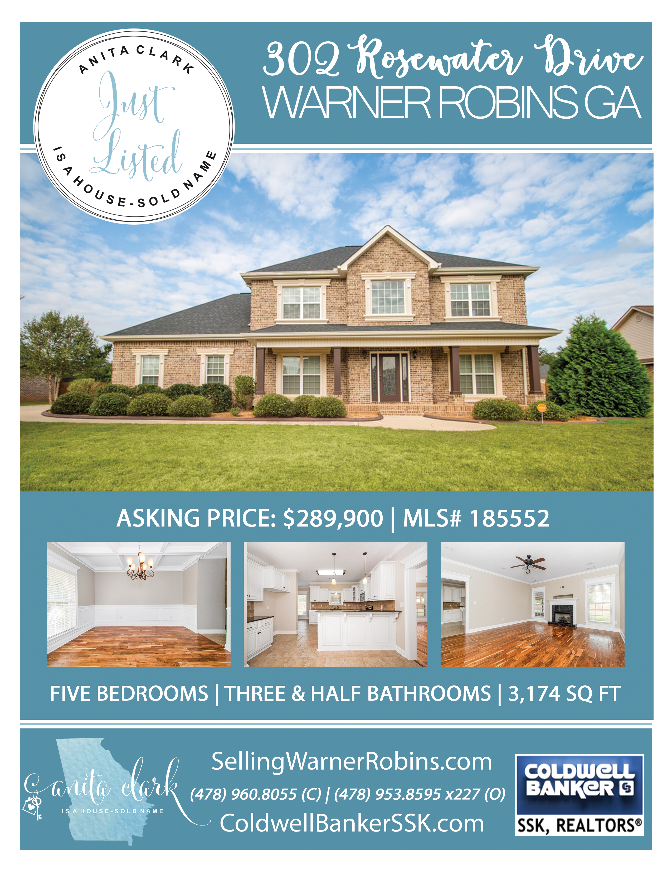 Just Listed in Rose Hill Plantation Subdivision