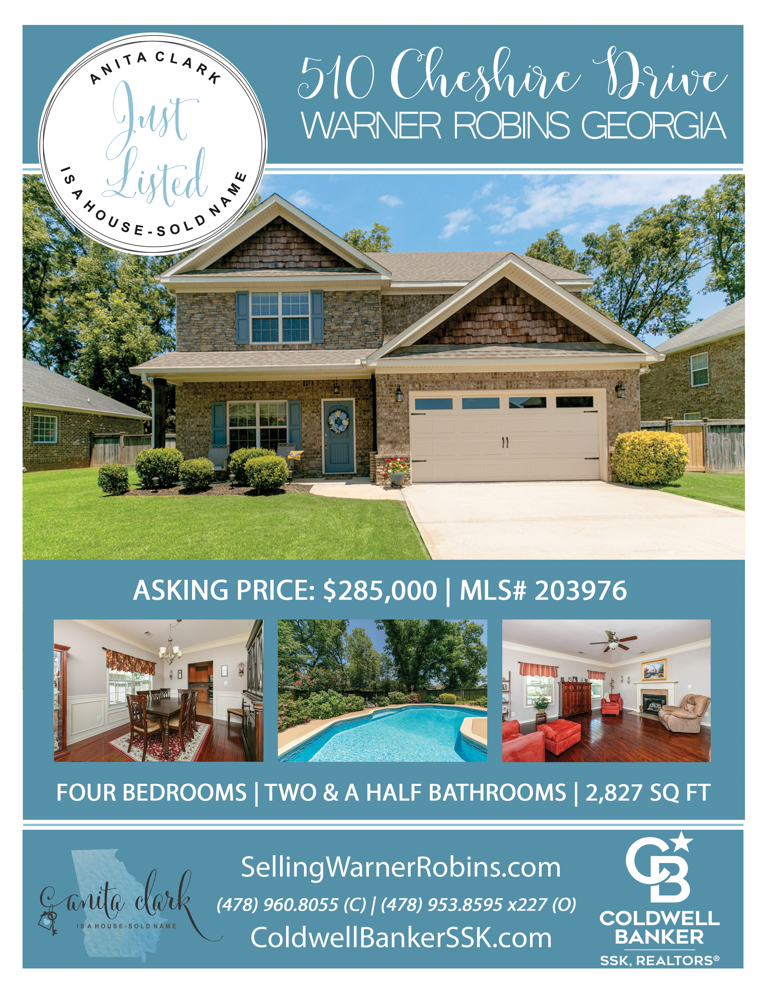 Just Listed in Kensington Subdivision