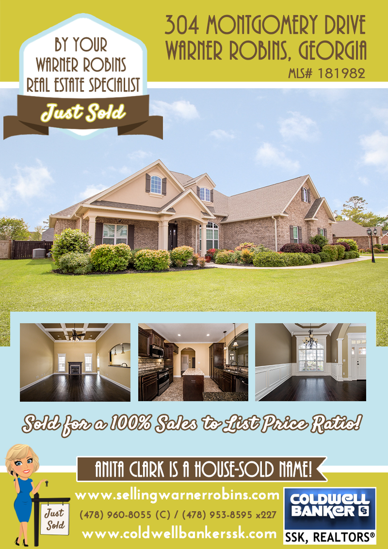 Sold in the Savannah Square Subdivision