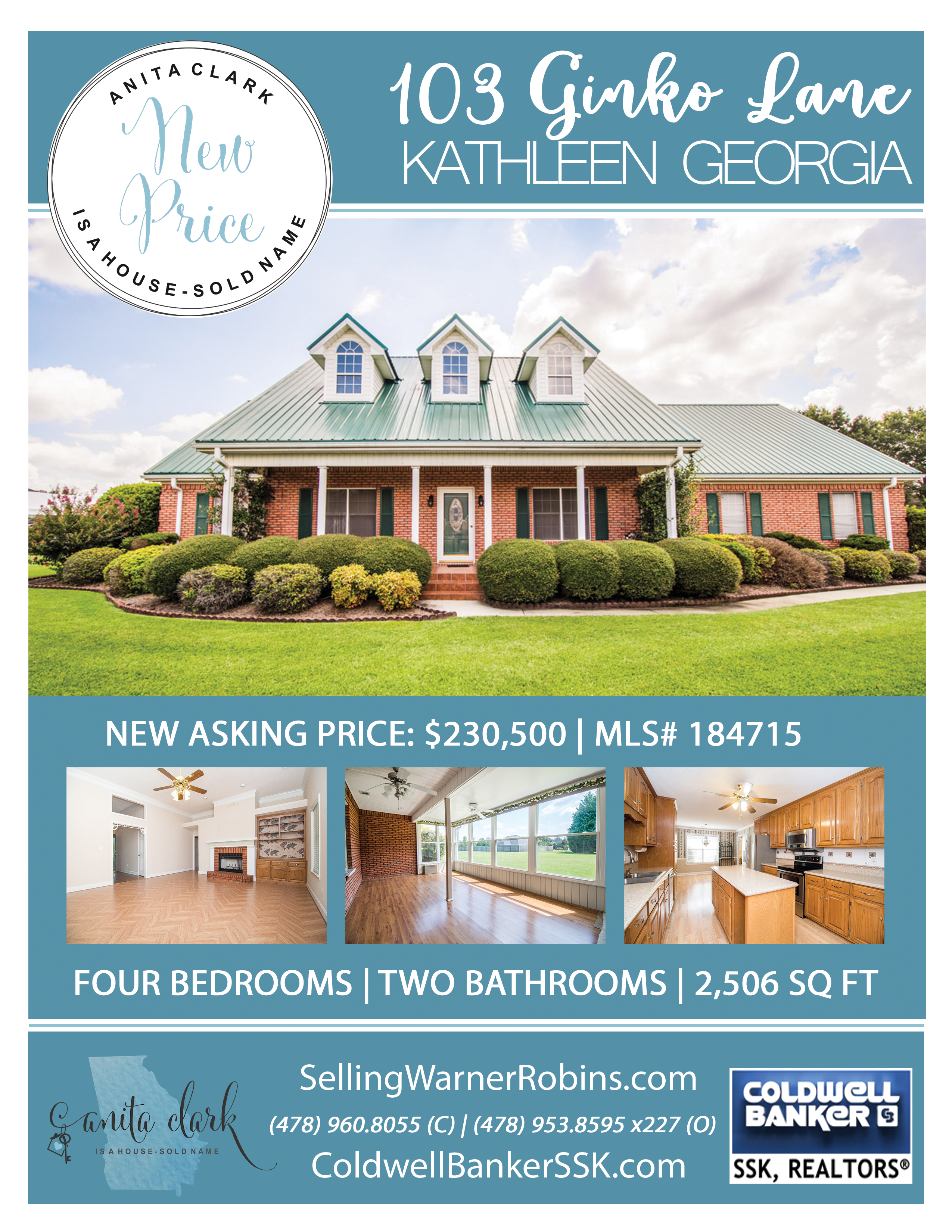 Price Reduced in Magnolia Hills Subdivision