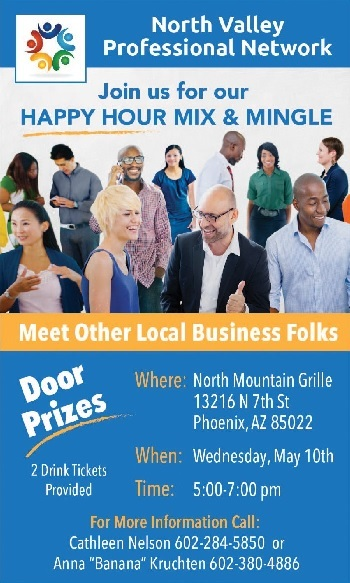 Phoenix Networking Meetup Wednesday May 10 from 5 to 7