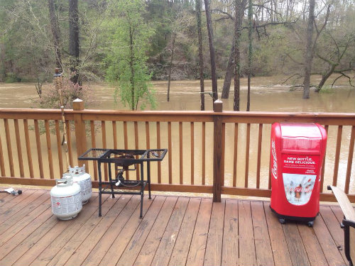 Flooded Cahaba River