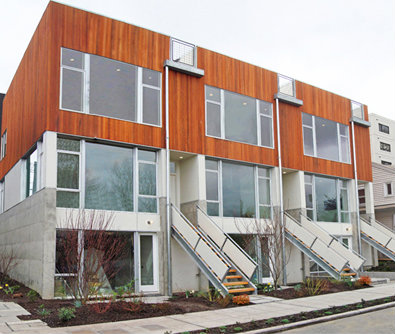 Three story townhomes for sale in seattle for Three storey townhouse design
