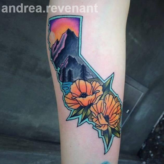 andrea revenant of 3rd street tattoo hermosa beach