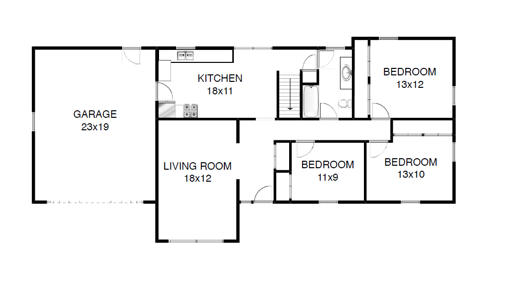 Brooklyn center home for sale floor plan available for Interactive floor plan map