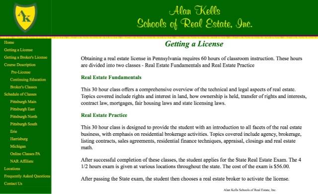 Individual Pennsylvania Pre-Licensing Courses