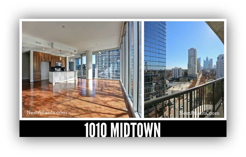Skyline views at 1010 midtown atlanta condos for sale for 1010 midtown floor plans