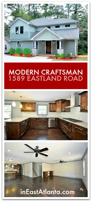 Atlanta Craftsman Home With A Modern Twist 1589 Eastland