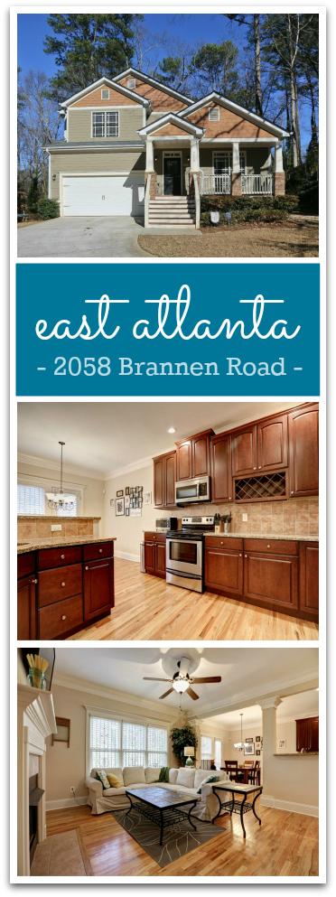 East Atlanta Craftsman Home For Sale 2058 Brannen Road