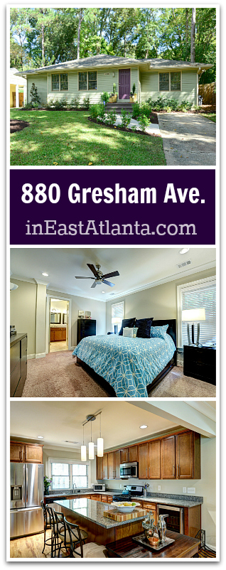 East Atlanta Home for Sale | 880 Gresham Ave