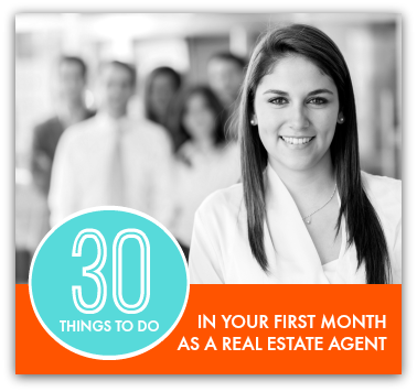Advice for New Agents - your first 30 days in real estate
