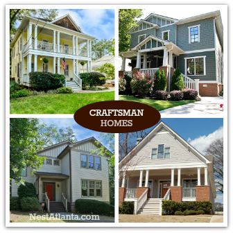 Craftsman Homes For Sale Near East Atlanta