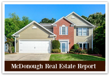 Home prices in McDonough GA