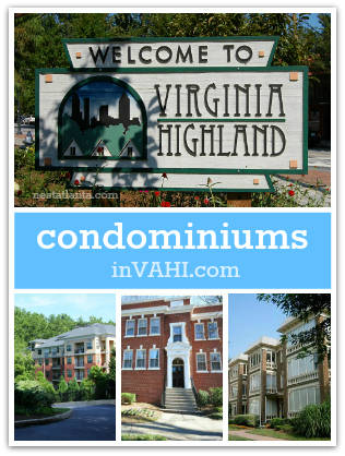 Virginia Highland condos for sale in Atlanta 30306