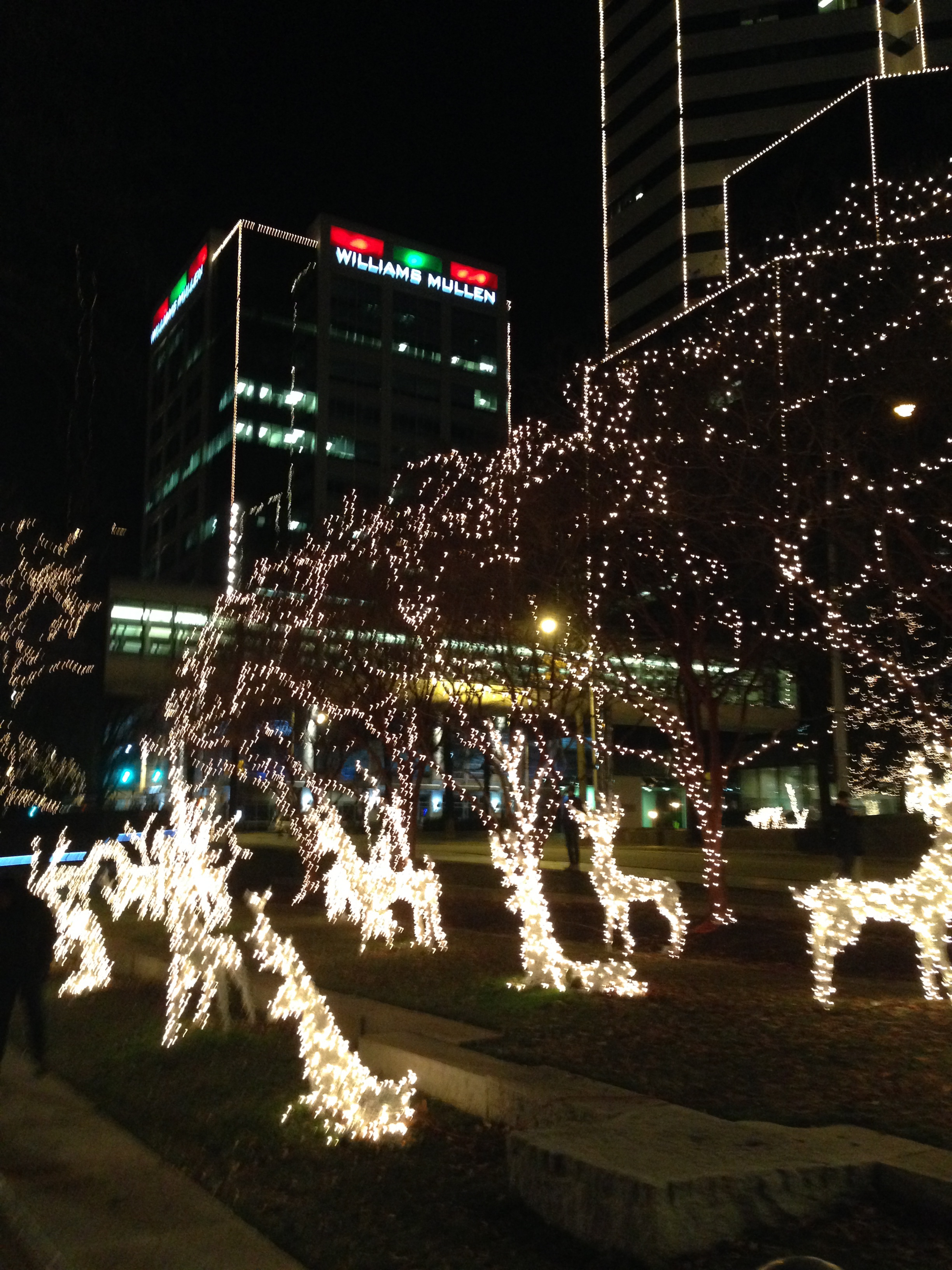 Lingering Holiday Lights Amp Decorations In Downtown