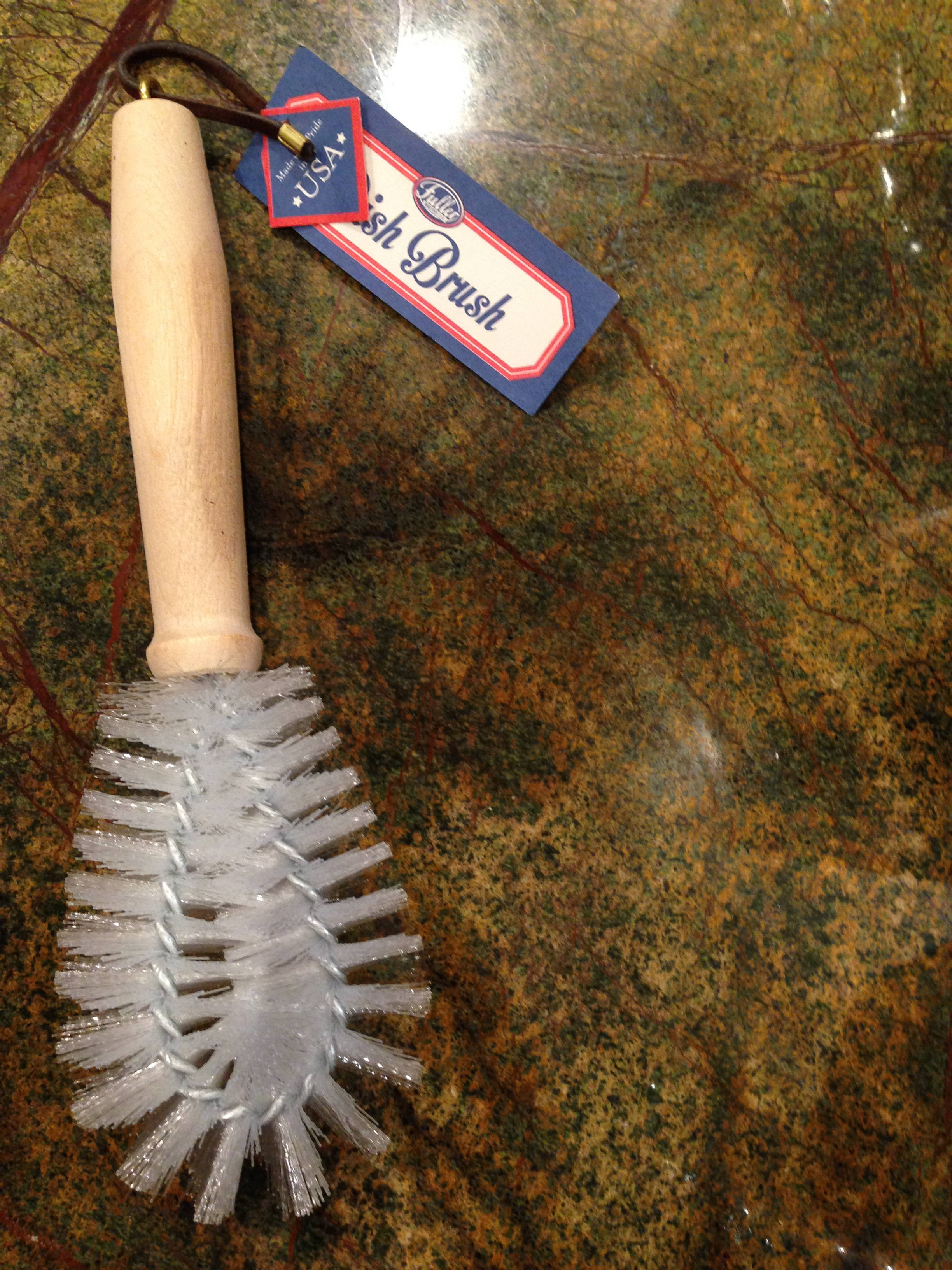 Purchasing this Made in USA dish brush made a difference to me.