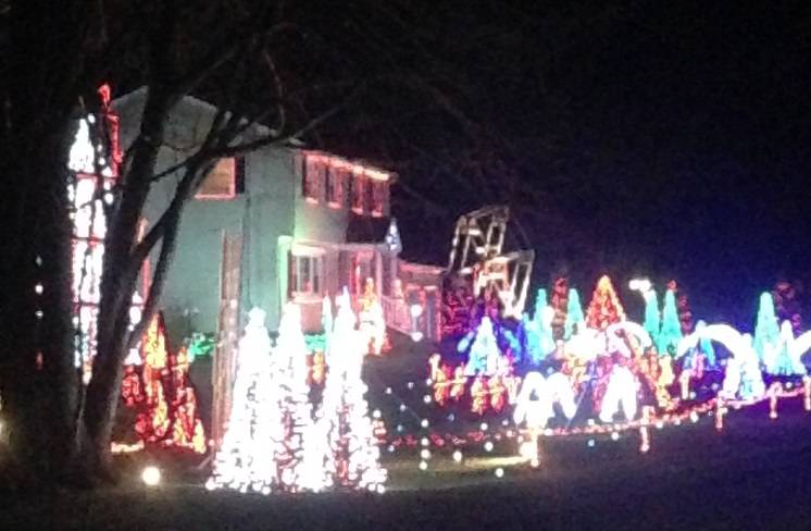 Christmas House Light Extravaganza in Trumbull CT