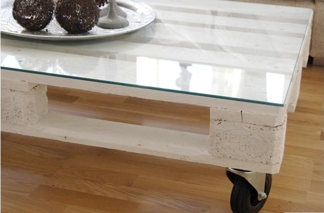 Make your own coffee table home design 2 sell - Faire table basse en palette ...