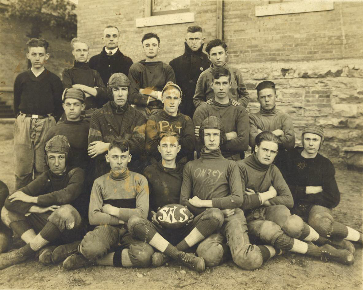 football players 1919 cleaned photo searcy ar