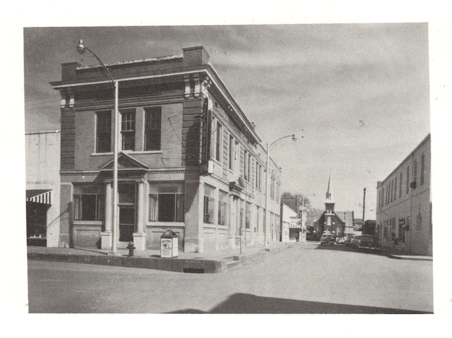 Arch St downtown Searcy AR historic photo