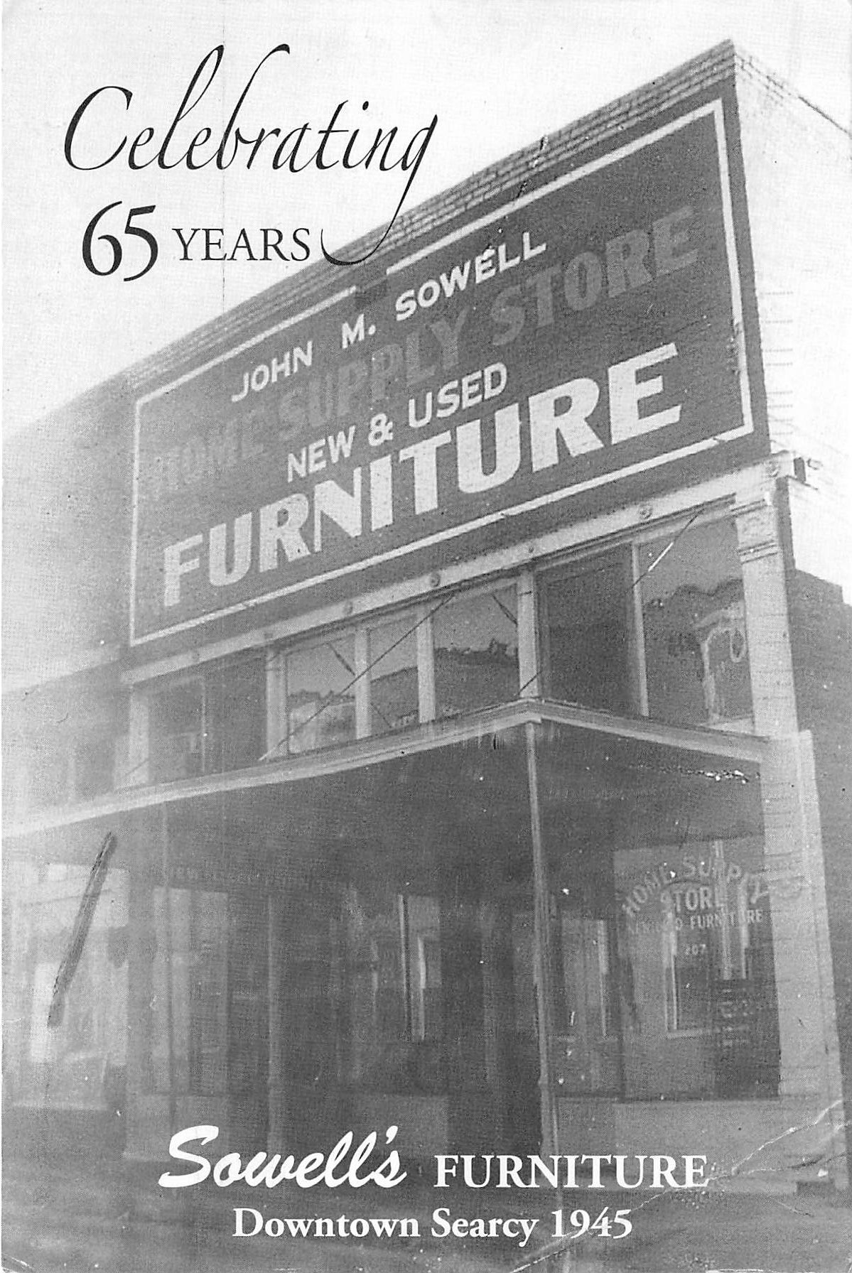 Sowell's Furniture Searcy Ar historic photo