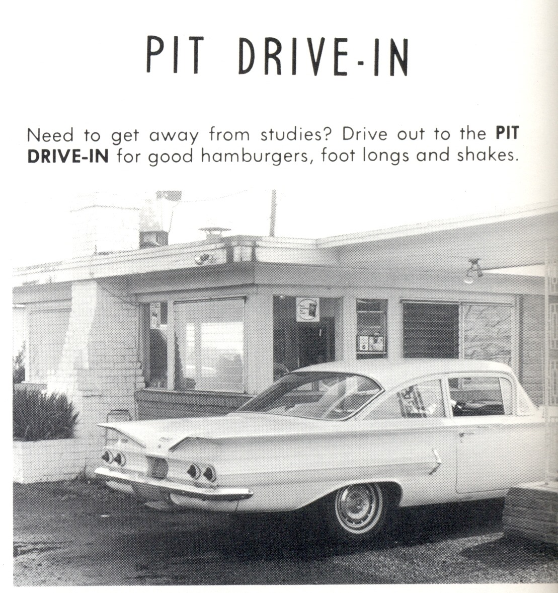 The old Pit Drive In