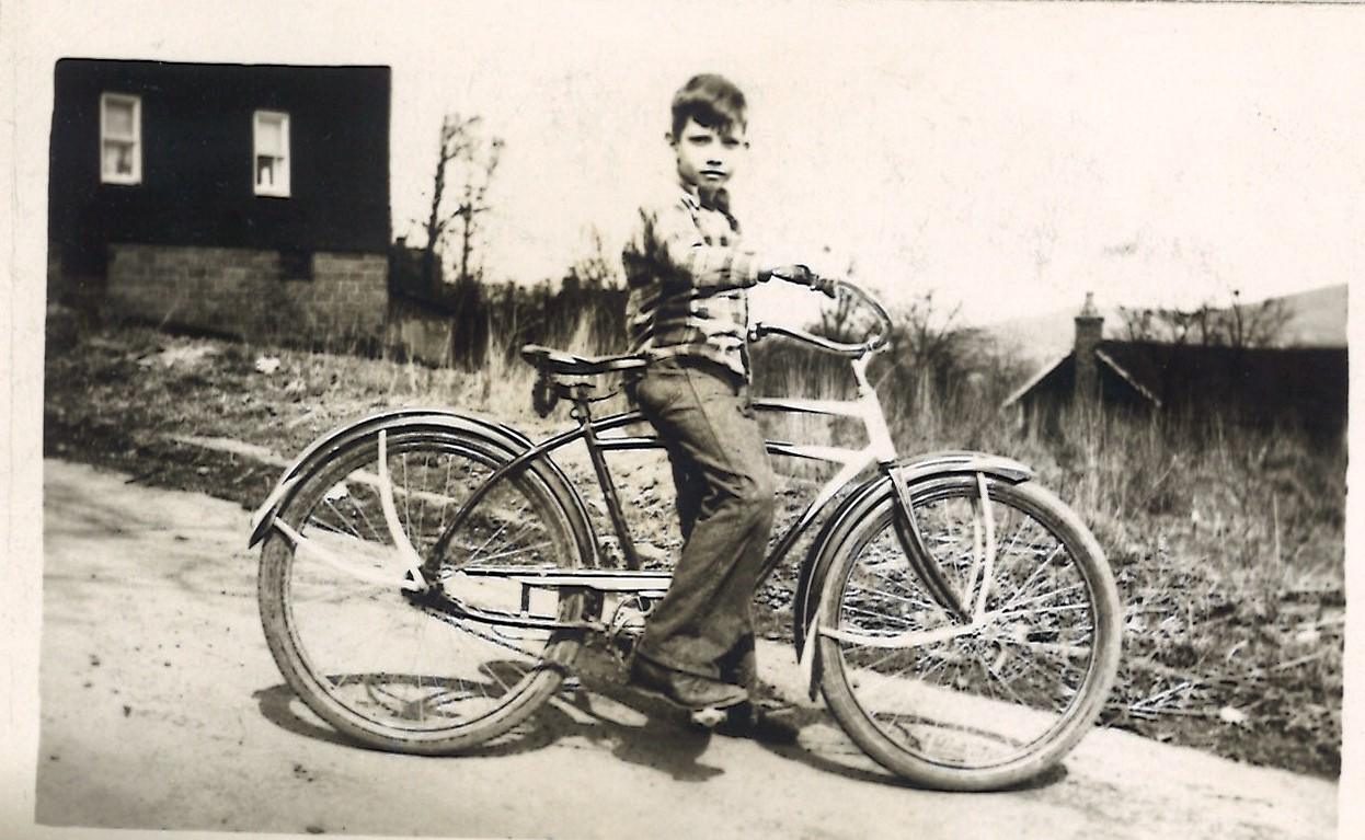 beloved bicycle unknown boy old picture