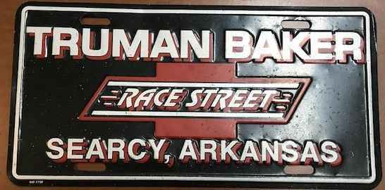 Truman Baker Searcy AR sign car dealers old historic