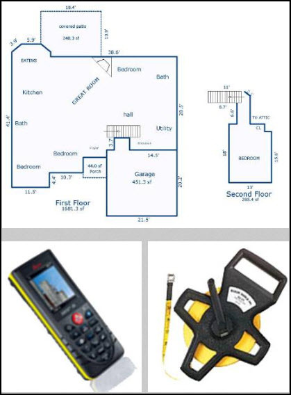 House Measurement Services For North Mississippi by Price It Right
