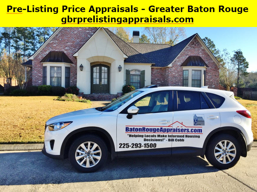 Post Listing Appraisals Baton Rouge Real Estate