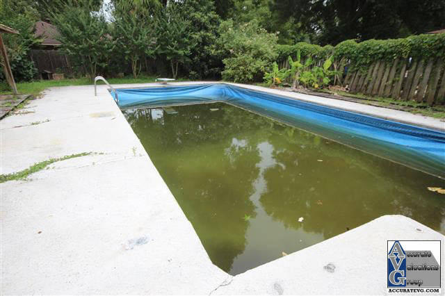 Baton rouge appraiser advice on adding inground pools for Least expensive inground pool