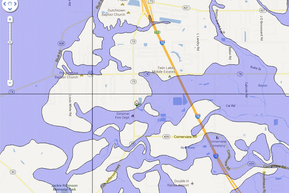 Ascension Parish Louisiana Flood Map Pictures To Pin On