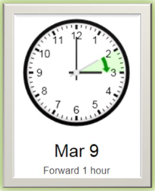 Chenge your clock