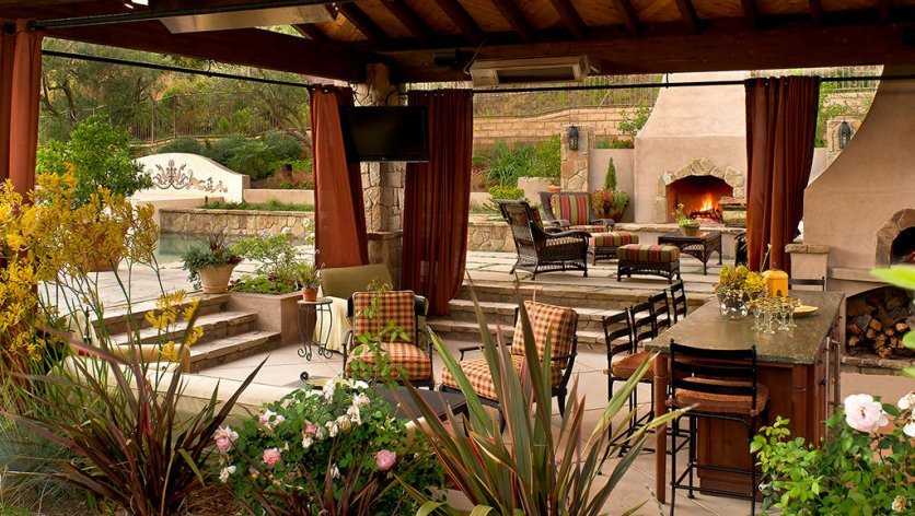 Outdoor Living Area an outdoor living area can really pay off to enjoy also when you sell