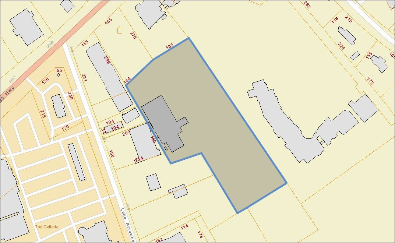myrtle beach mercial property 5 49 acres 21 600sq ft