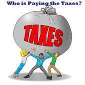 Who is paying the taxes