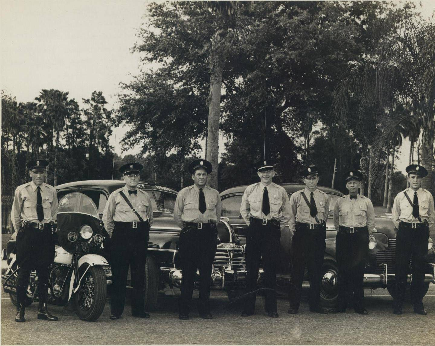 Throwback Thursday- 1941 Police Department in Florida