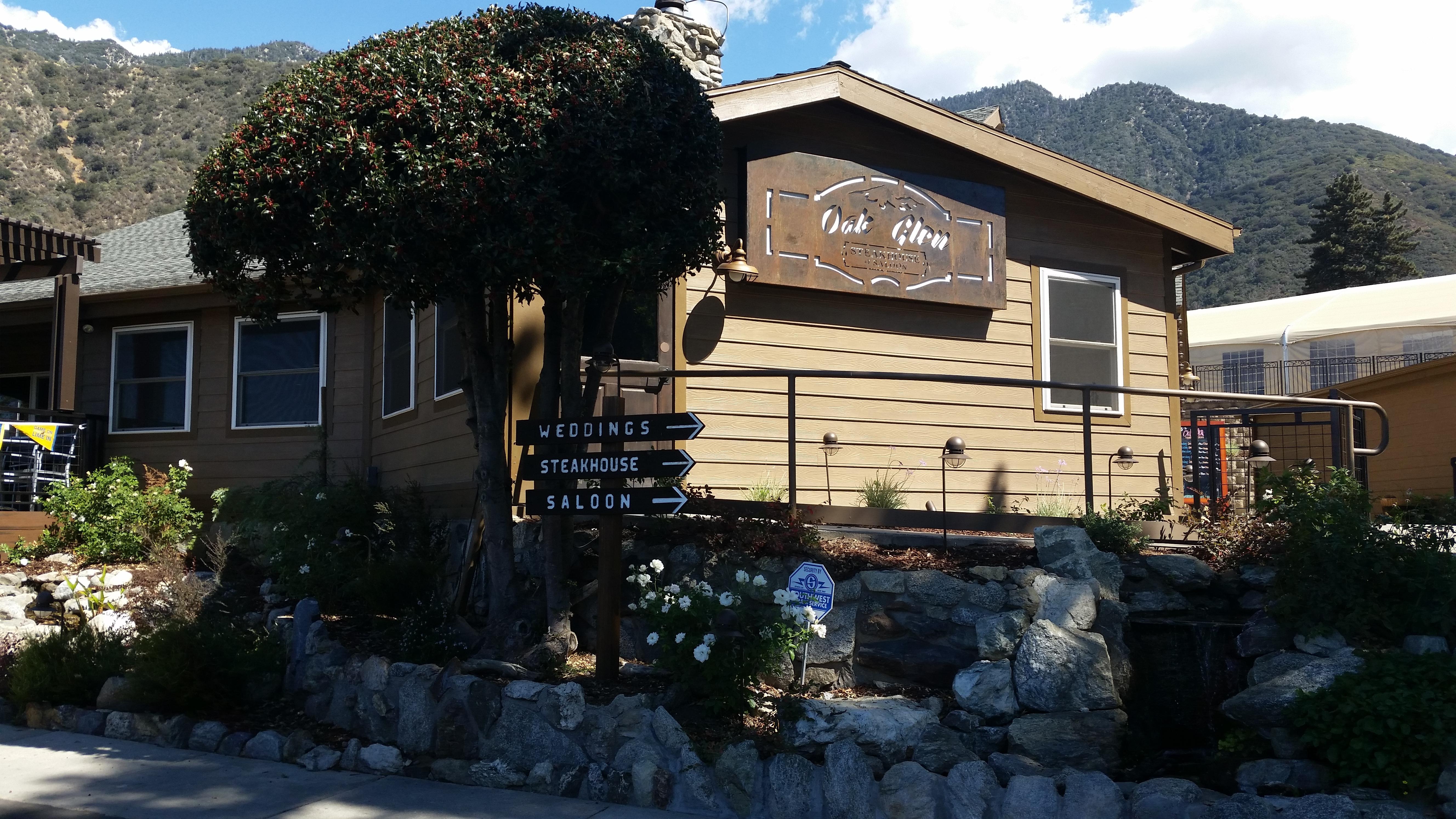 Inland Empire Restaurants Oak Glen Steakhouse Saloon