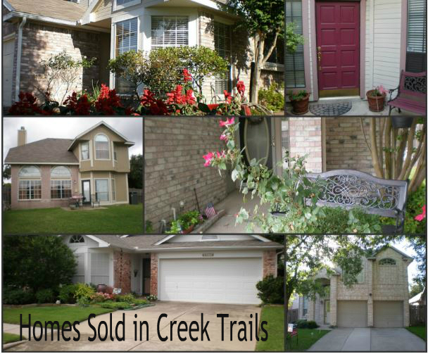 Creek Trails Sold Homes- Bernadine Eberle