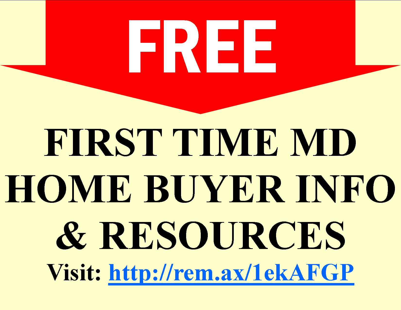 First Time Home Buyer Programs In Maryland How To Buy A Home In Md