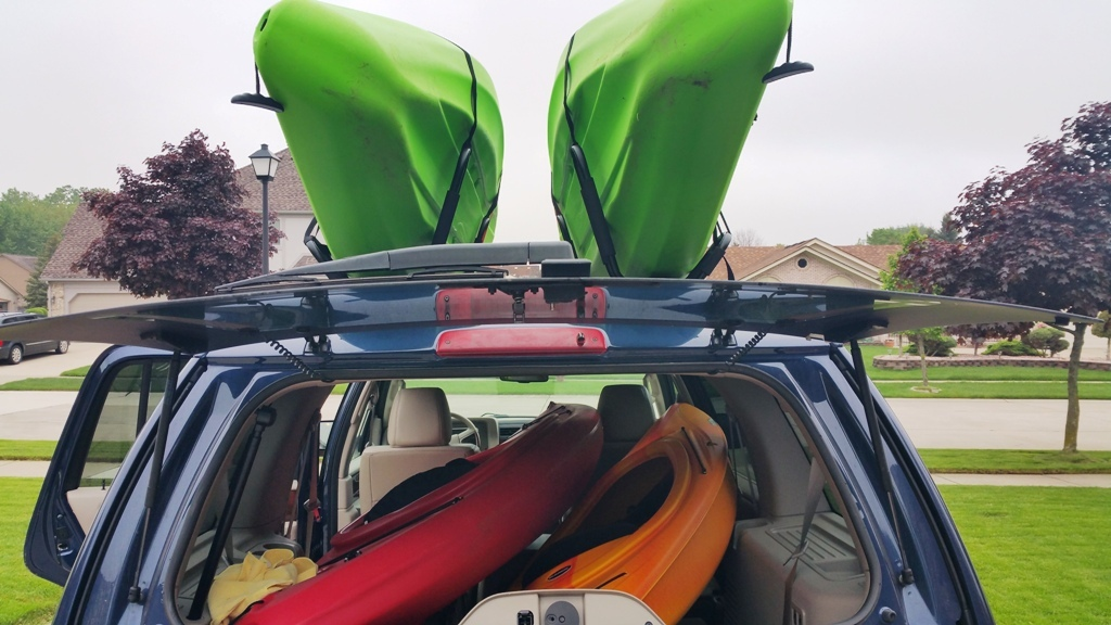 Loading Up Kayaks for Kensington