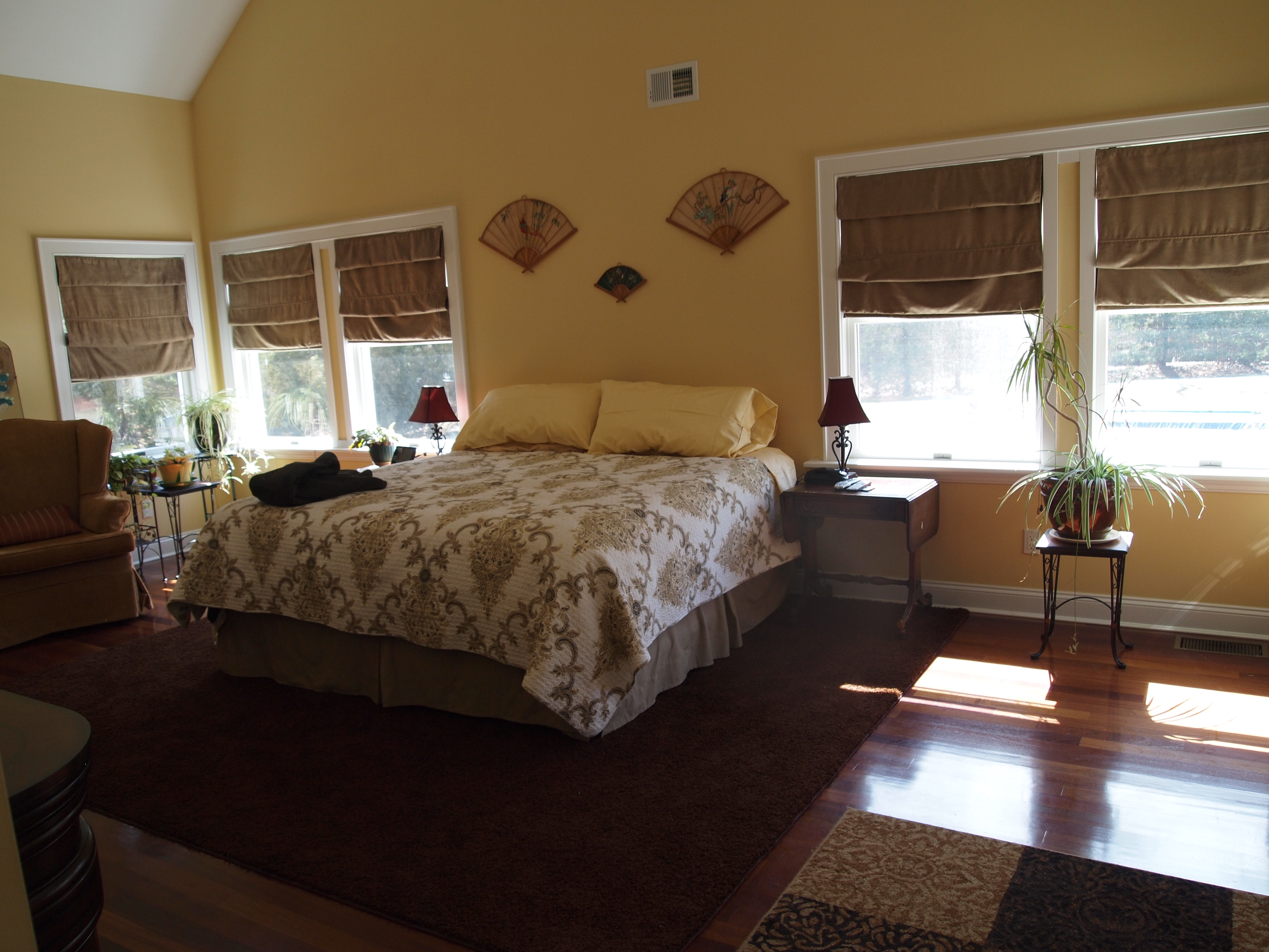 spacious Master Bedroom