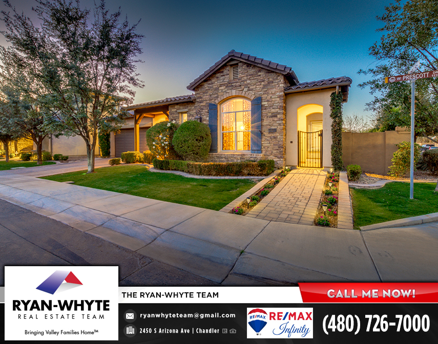 Chandler Real Estate 1116 W Prescott Dr Chandler AZ 85248 Windward at Ocotillo by The Ryan Whyte Real Estate Team