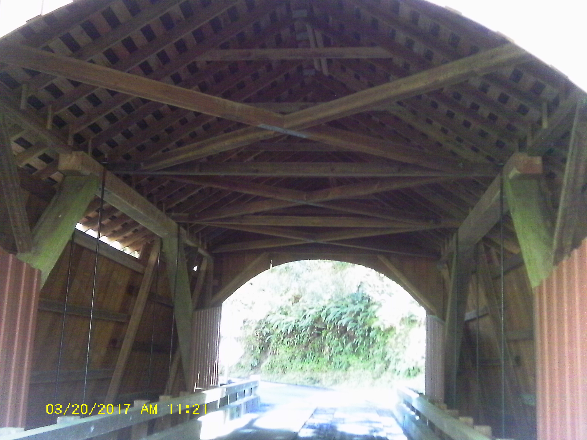 Yachats covered bridge