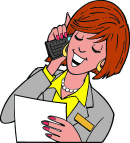 Cell Phone Woman