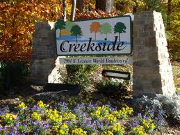 Creekside sign