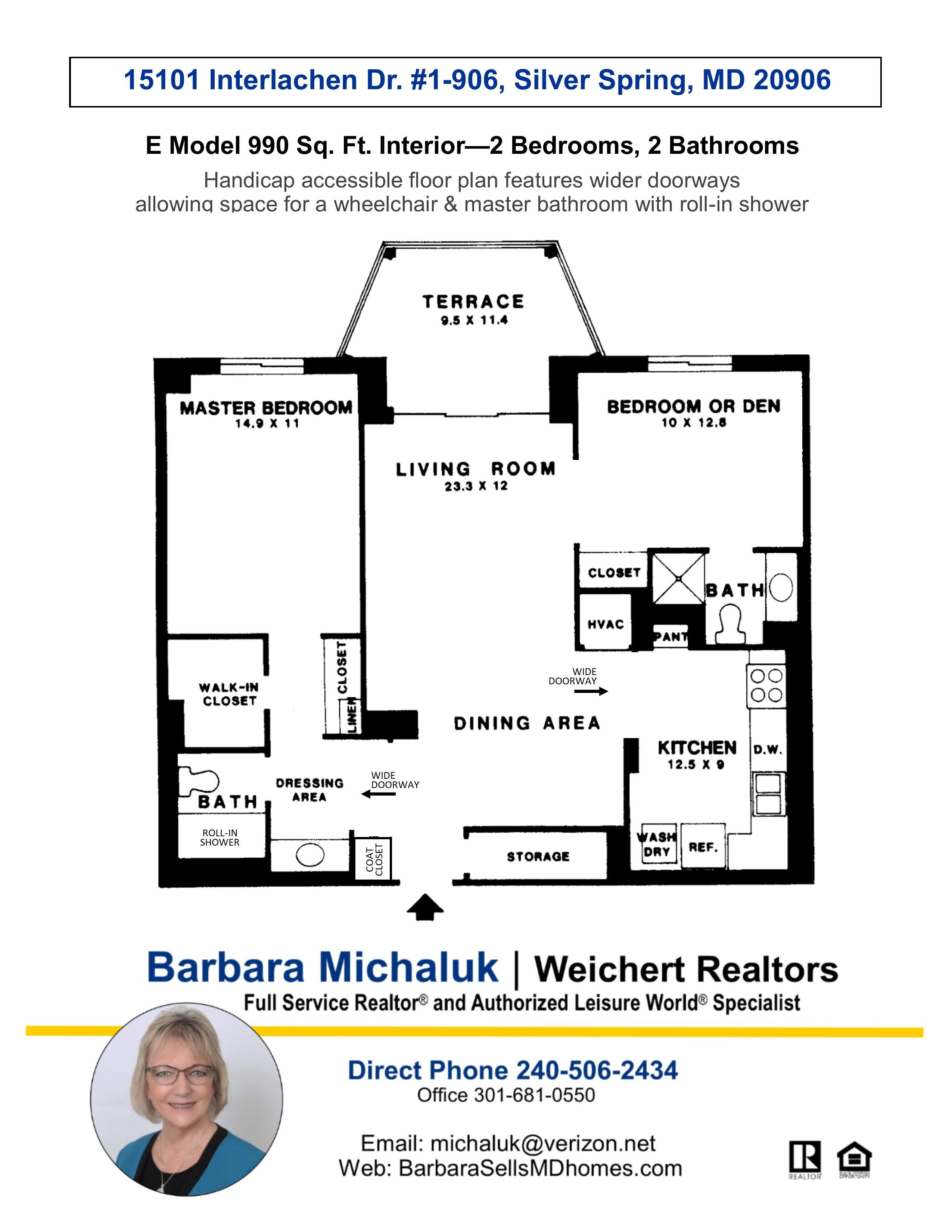 Floorplan flyer GREENS MODEL E
