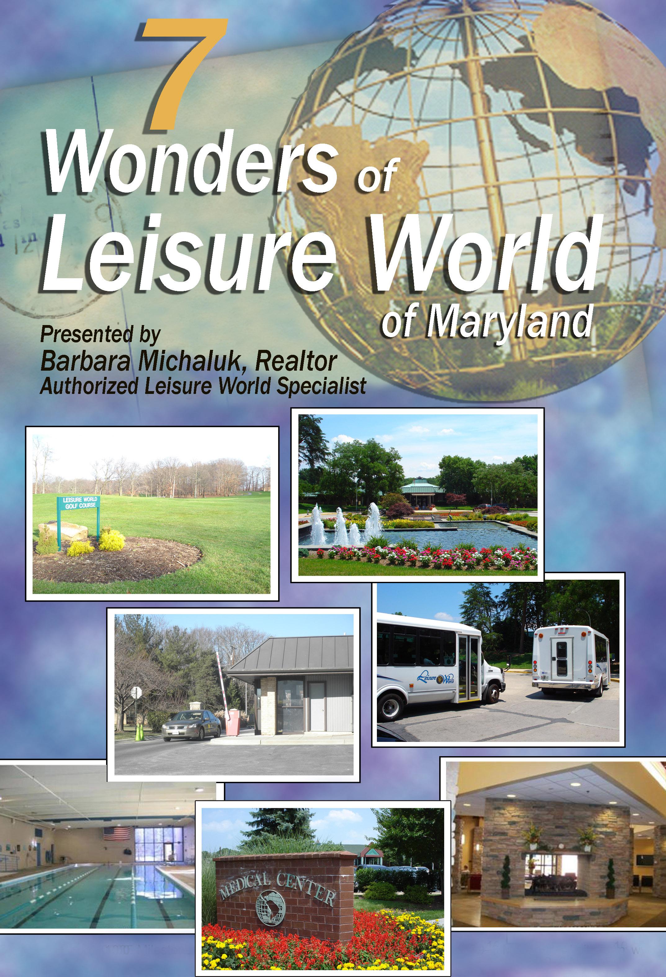 Leisure World Wonders Barbara Michaluk Realtor